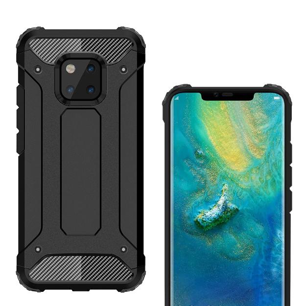 Military Defender Shockproof Case - Huawei Mate 20 Pro (Black)